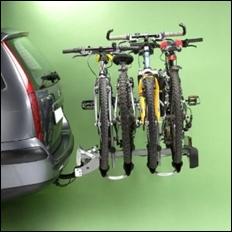 Mottez Fahrradheckträger für 4 Fahrräder