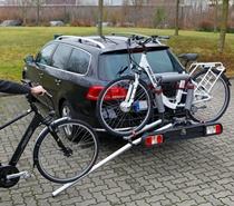 Fischer E-Bike Kupplungs Fahrradträger